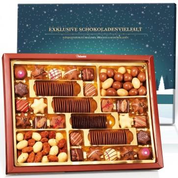 """Exklusive Schokoladenvielfalt """"Weihnachten"""""""