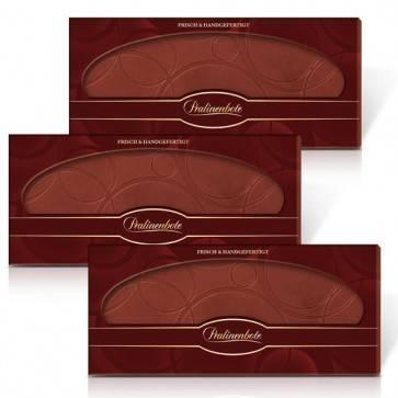 Herkunfts-Schokoladentafel-Set Zartbitter