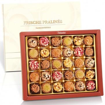 Nougat Cupcakes mit 30 Pralinen