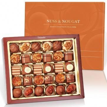 Nuss & Nougat mit 30 Pralinen