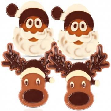 Weihnachtstafel-Figuren Bündel