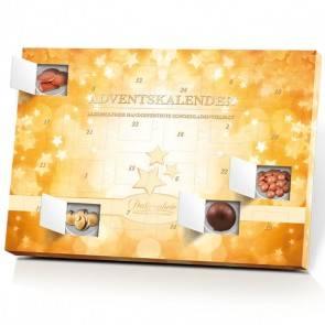Alkoholfreier Adventskalender mit schokoladiger Vielfalt