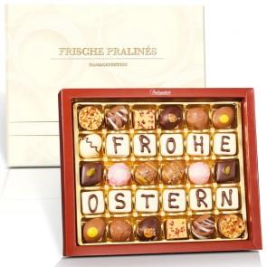 """FROHE OSTERN"" Kollektion mit 30 Pralinen"