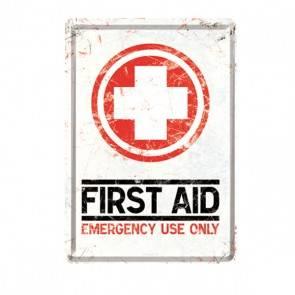 """Blech-Postkarte""""First Aid"""""""
