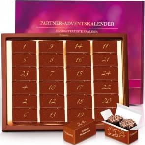 Partner-Adventskalender mit 48 Pralinen