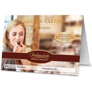 Gutschein Pralinen-Tasting-Abend per E-Mail