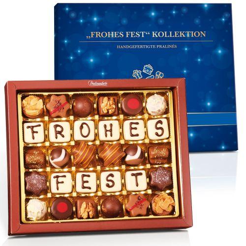 """""""FROHES FEST"""" Kollektion mit 30 Pralinen"""