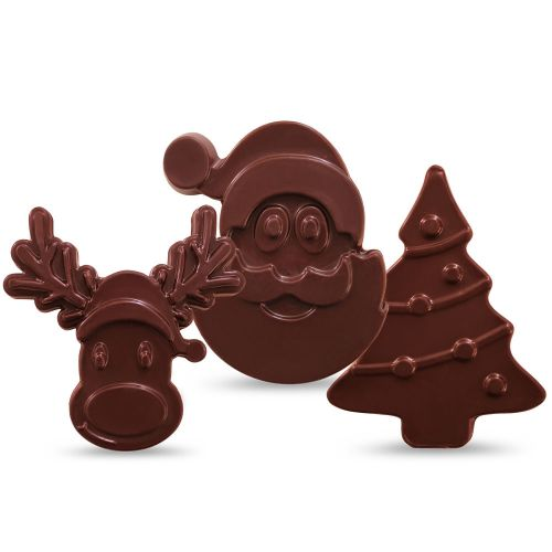 """Herkunfts-Schokoladentafel-Set """"Weihnachten"""""""