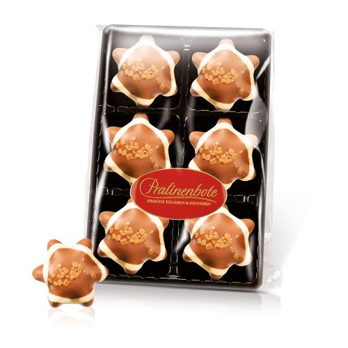Macadamia-Schokostern, 6 Pralinen