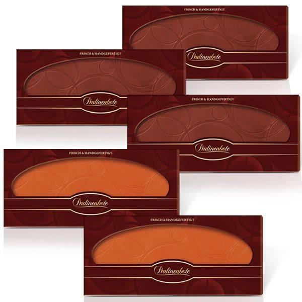 Herkunfts-Schokoladentafel-Set