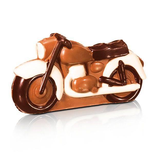 Schoko Motorrad, 16 cm
