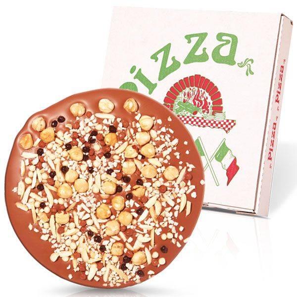 Schoko Pizza Knusper Knack , 16 cm