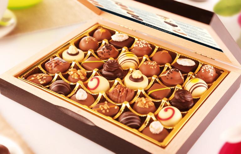 Exklusive Pralinen und Schokoladen - Bild