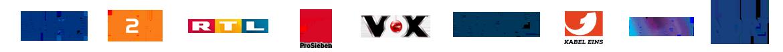Bekannt aus dem Funk und Fernsehen: ARD - ZDF - RTL - ProSieben - Vox - WDR - KABEL EINS - SWR - NDR