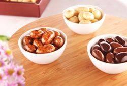 Exklusive Schokoladen-Dragees