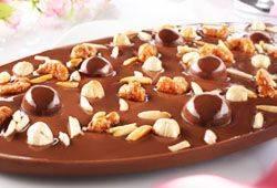 Exklusive Schokoladen-Tafeln